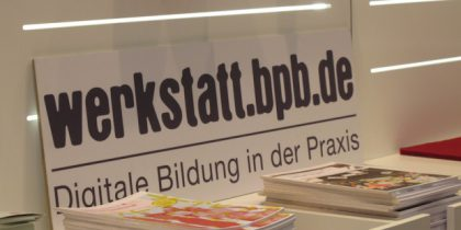 Werkstatt.bpb.de: Digital Education in Practice