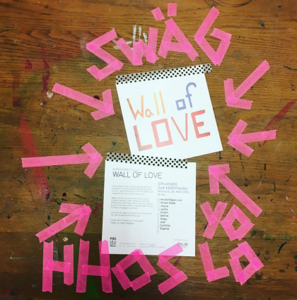WALL OF LOVE | HALLE 14